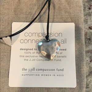 J. Jill compassion heart necklace